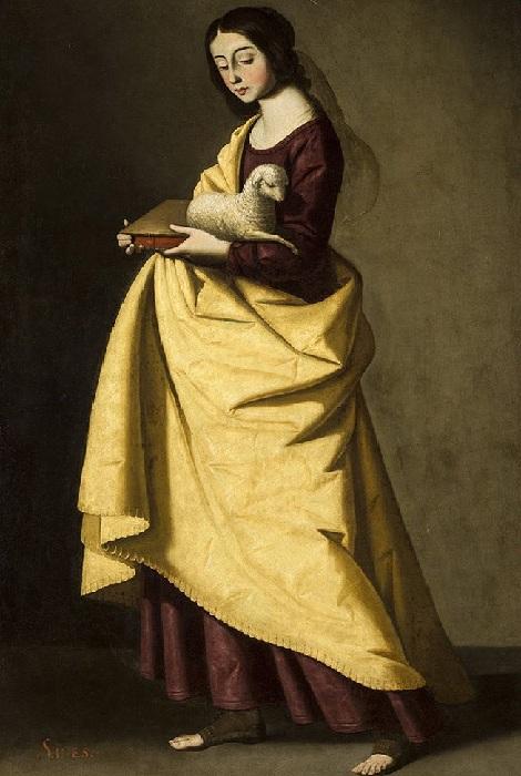 Святая Агнесса, Севилья, Музей изящных искусств.